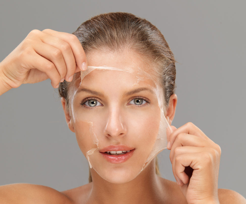 chemical peel treatment at Symphony Clinics